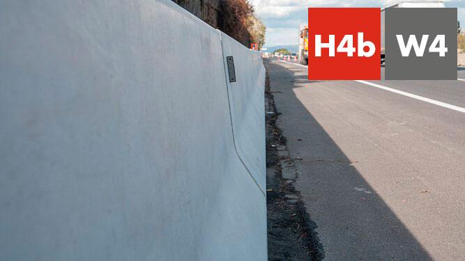 Barrera de hormigon con marcado CE rb100sf_8_h4bw4 - Jocar